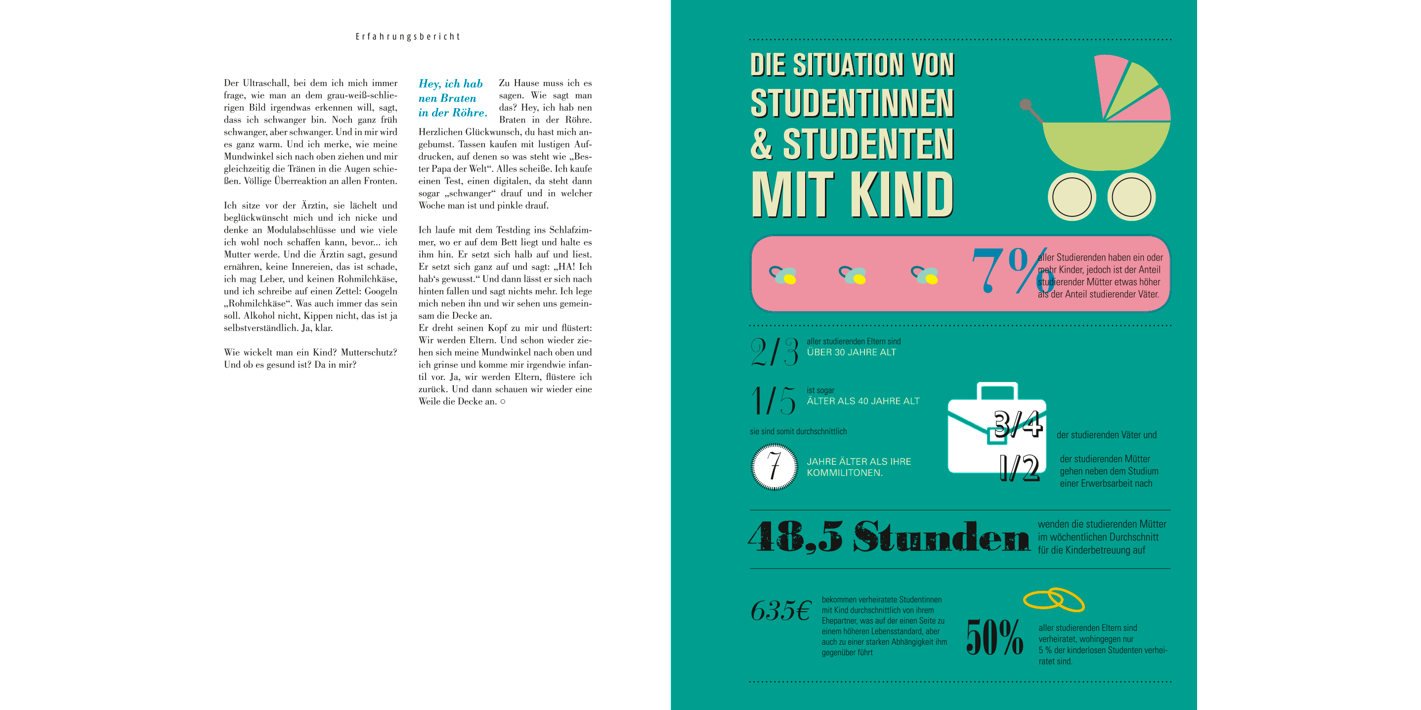 "Magazin ""parallel"" - Studieren mit Kind"