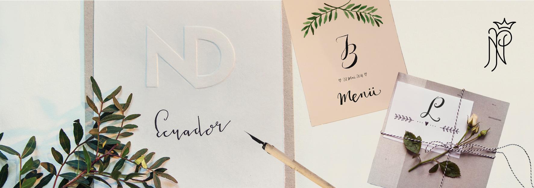 Monogramme & Handlettering