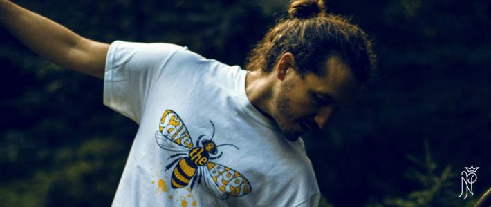 SAVE THE BEES! veganveins-Fotoshooting mit ICONEO